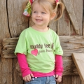 Muddy Feet, Pure Heart Children's Shirt