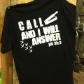 Call and I Will Answer T-shirt (Turkey)